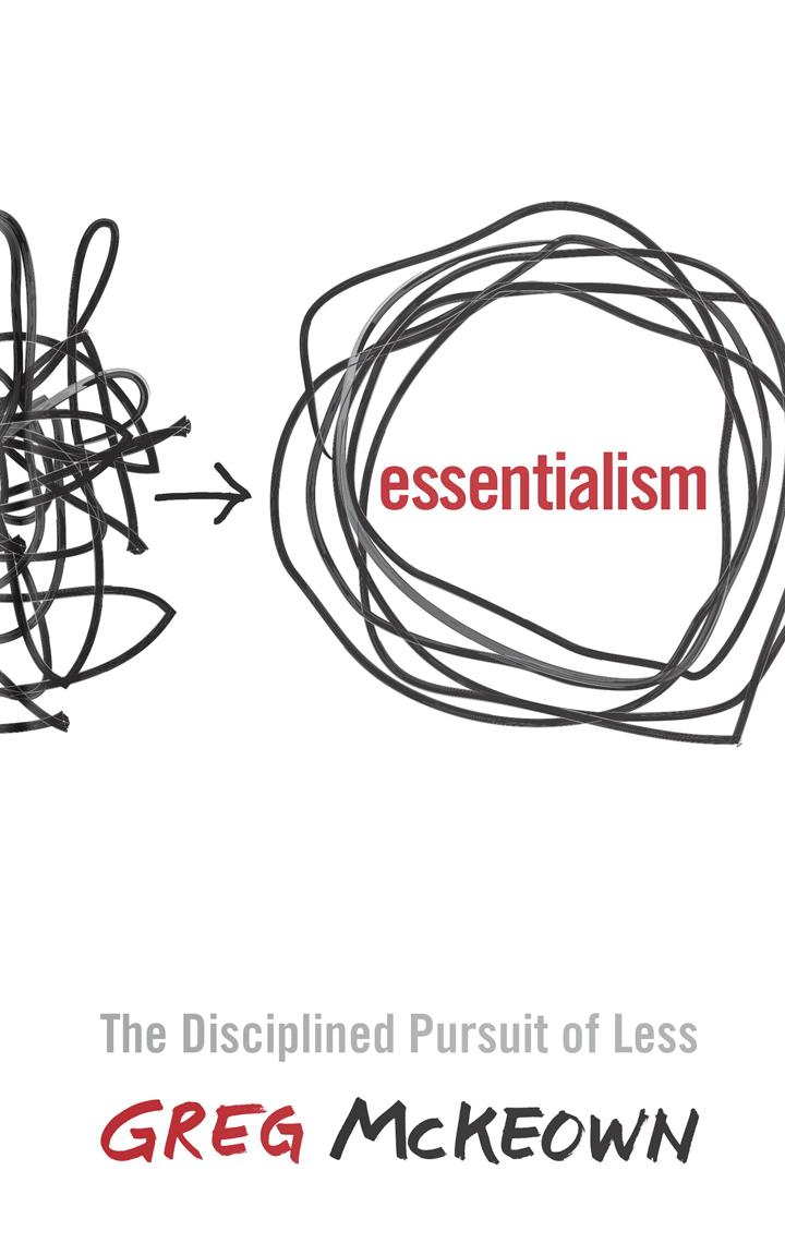 Esencjalista Booknotes